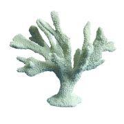 Coral Decorativo De Cerâmica Branca 29,5X26CM NA0640