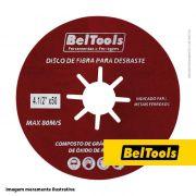 DISCO DE FIBRA DESBASTE 4.1/2X120 BELTOOLS