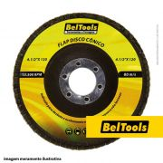 DISCO DESBASTE FLAP CONICO 4.1/2X50 BELTOOLS