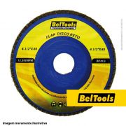 DISCO DESBASTE FLAP RETO 4.1/2X80 BELTOOLS