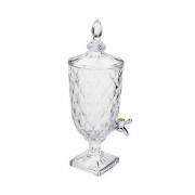Dispenser Suqueira Diamond de Cristal Ecológico com Torneira 3L 6880 Lyor