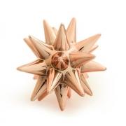 Escultura Decorativa Ouriço Cerâmica Rose Gold 16cm 08723 Mart