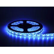 Fita De Led 12V Azul IP65 LED5050 Rolo 5 Metros