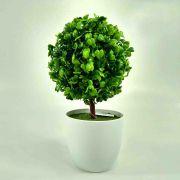 Flor Bonsai Verde C/ Pote Artificial Permanente 24CM 35051-0001