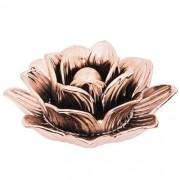 Flor Decorativa Rose Gold em Cerâmica 8x18cm 7690 Mart