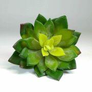 Flor Suculenta Cor Verde Artificial Permanente 10CM 35031-001