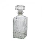 Garrafa Para Whisky de Vidro Dublin 700ml 7248 Lyor
