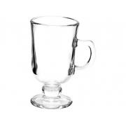 Jogo 6 Taças de Cappuccino com Alça de Vidro 114ml 6629 Lyor