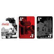 Jogo De Baralho Luxo Coca Cola Landscape Egypt Colorido 25741