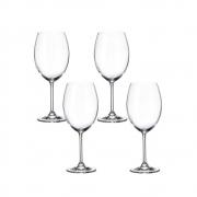 Kit 04 Taças de Vinho Para Degustação Cristal Sommelier 580ml 5169 Lyor