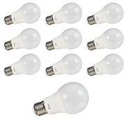 Kit 10x Lâmpada LED Bulbo A60 9W 6500K Bivolt Brilia Smart