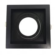 Kit 10x Spot Par 20 Recuado Preto + Lâmpadas LED 3000K