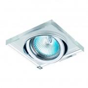 Kit 11x Spot Embutir Dicroica MR16 Cristal Espelhado YD134 Bella