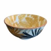Kit 4 Bowls Vaso Decorativo de Cerâmica Floral 11,5cm HP0020 BTC