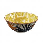 Kit 4 Bowls Vaso Decorativo de Cerâmica Floral 15,5cm HP0025 BTC
