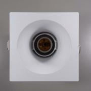 Kit 6x Spot Embutido Quadrado Bulbo Branco Save