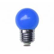 Lâmpada Bolinha Decorativa Azul G45 E27 LED 3W 127V