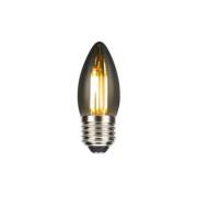 Lâmpada C35 Vela Fumê Filamento LED 4W 2400K E27 Bivolt