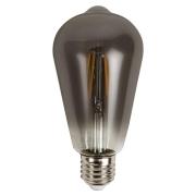 Lâmpada Filamento LED 4W ST64 Fumê Bivolt E27