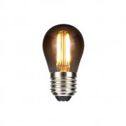 Lampada G45 Bolinha Fume Filamento LED 4W 2400K E27 Bivolt