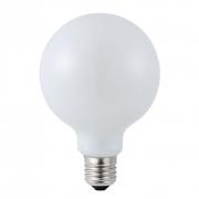 Lampada G80 Leitosa Milky Filamento LED 8W 2400K E27 Bivolt