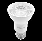 Lâmpada PAR 20 8W 2700K Branco Quente Crystal Dimerizável Bivolt Save Energy
