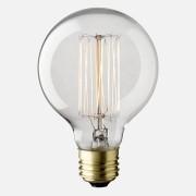 LAMPADA VINTAGE - FILAMENTO DE CARBONO - G80 40W 127V E27 ALTALUCE
