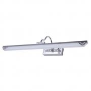 Arandela Camarim Flat Cromada Ajustável 61cm LED 8W 3000K Bivolt