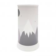 Luminária de Mesa Abajur Hug Montanhas 1E27 24,5cm Decor Fun