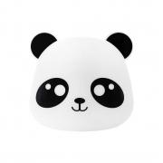 Luminária de Mesa Abajur Panda Led RGB com Controle Remoto 26x27cm Decor Fun
