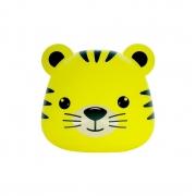Luminária de Mesa Abajur Tigre Amarelo 1E27 26x27cm Decor Fun