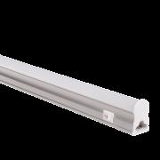 Luminaria Linear Led T5 Com Interruptor 18W 3000K Bivolt 120CM Policarbonato
