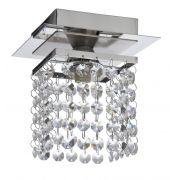 Luminária Plafon de Cristal Halopin G9 Sobrepor Blumenau