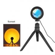 Luminária Projetor Sunset Pôr do Sol USB Led 5W Tripé