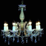 Lustre 8 Braços Duchessa Transparente 8e14 KH1068 Bella