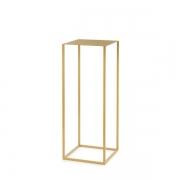 Mesa de Apoio Dourada em Metal 60cm 12925 Mart
