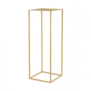 Mesa de Apoio Dourada em Metal 71,5cm 12925 Mart