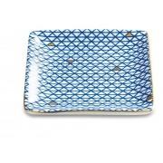Mini Prato Azul em Cerâmica 10613 Mart