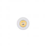 Mini Spot Embutir LED Elysa Redondo Branco 1W 3000k Bivolt