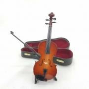 Miniatura Decorativa Violino 18cm BTC