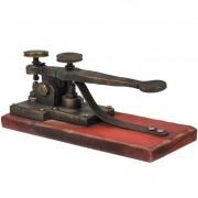 Miniatura De Telegrafo 22cm BTC