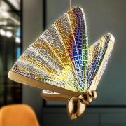 Pendente Borboleta Colorida LED 6W 3500K Bivolt