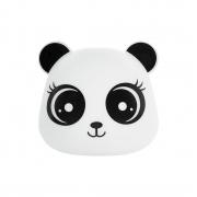 Pendente Luminária Panda Menina 1E27 26x27cm Decor Fun