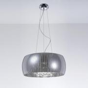 Pendente/Plafon Cristal Transparente Detalhes No Vidro HO7850 Bella