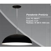PENDENTE PRETORIA PRETO 1E27 KIN PD380/PT