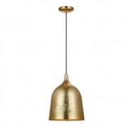Pendente Sines em Metal Dourado 1E27 43x27cm