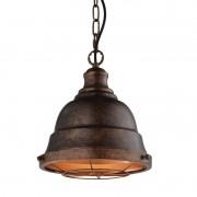 Pendente Vintage com Cupula Aramada Cobre Envelhecido 1E7 Starlux