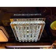 Plafon Cristal Sobrepor 28cm LED 40W Acompanha Controle Remoto