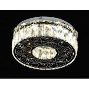 Plafon De Cristal Redondo 35cm LED 32W Com Controle Remoto Bivolt