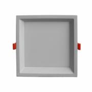 Plafon de Embutir Branco Low Frame 9cm LED 6W 4000K Bivolt DLD006N Bella